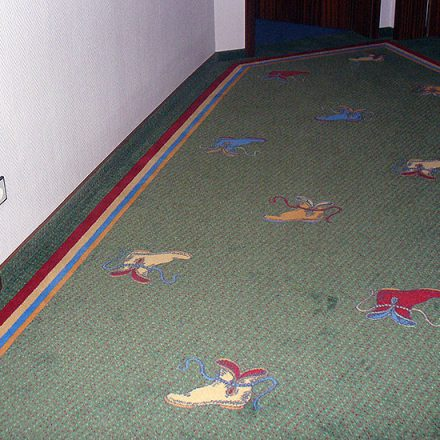 Teppichboden Hotel Bundschuh