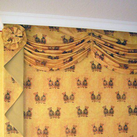 Wall covering Margarethe-Steiff-Suite Romantik Hotel Der Adelshof