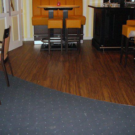 Floor covering combined